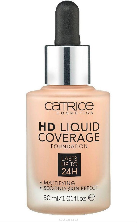 Тональная крем Catrice HD Liquid Coverage Foundation